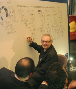 visual thinking caricaturizado